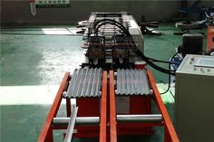 #Double #Light #Keel (60*27/27*28)#Roll #Forming #Machine consists of feeding, forming, after molding, products smooth appearance beautiful appearances, uniform lacquer veins, high strength, durable, widely used in industrial and civil buildings, such as workshop, warehouse, locomotive shed, hangar room, gymnasium, exhibition halls, theaters and other surface and wall.