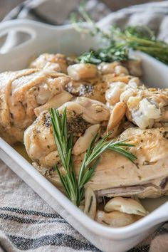 Whole30 friendly Chicken with 40 Cloves of Garlic in your Instant Pot - Primal Palate | Paleo Recipes