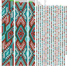 18 around tubular bead crochet rope pattern Bead Crochet Patterns, Bead Crochet Rope, Crochet Bracelet, Weaving Patterns, Beaded Necklace Patterns, Bracelet Patterns, Seed Bead Jewelry, Bead Earrings, Seed Beads