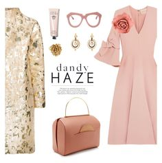 """""""structured fancies"""" by pensivepeacock ❤ liked on Polyvore featuring Gianluca Capannolo, Roksanda, Chanel, Bobbi Brown Cosmetics and Karen Walker"""