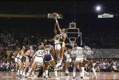 Fotografia de notícias : NBA Finals. Los Angeles Lakers Kareem...