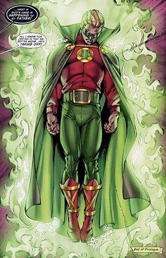 DC-COMIC - Green Lantern/ Literna Verde/ Centinela (Alan Scott) - JUSTICE SOCIETY OF AMERICA/ GREEN LATERN CORPS/ ALL-STAR SQUADRON/ SENTINELS OF MAGIC