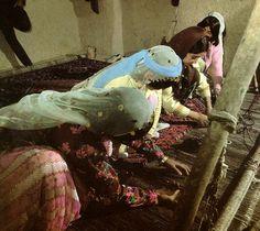 Qashqai Tribe Women Weaving Rug