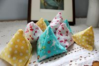 Pyramid bean bags for little hands - The Artful Parent