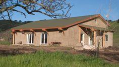 burtt-sowle straw bale home in california