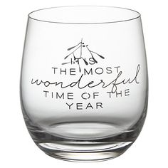 Buy John Lewis Croft 'Wonderful Time Of The Year' tumbler Online at johnlewis.com