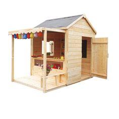 Maisonnette en bois Epicerie - CASTORAMA