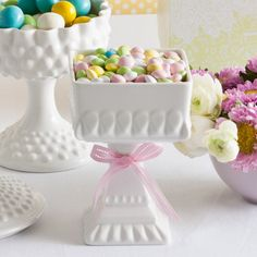 Rosanna Les Petite Sweets #Compote Square...these are gorgeous....and i love anything with bows attached.