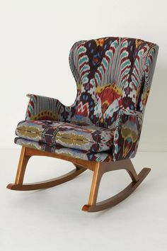 Every nursery needs a rocker, but who says it cant be stylish too