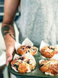 Blueberry Breakfast Muffins - Dish