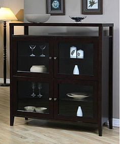 @Overstock   Complete Your Home Decor With This Aristo Cabinet Luxurious  Piece Of Furniture Features