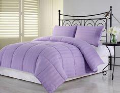 Light Purple Down Alternative Comforter Set - Purple Bedroom Ideas