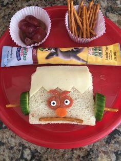 Frankenstein sandwich for kids