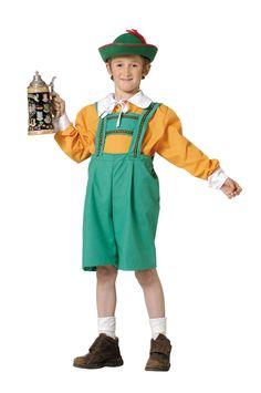 Disfraz de tirolés para niño