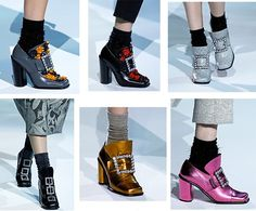 Pilgrim shoes by Marc Jacobs (Fall 2012)
