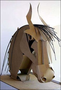 "Photo: The head on Tangpuz' ""Horse Head"" sculpture bobs when ... / LJWorld.com"