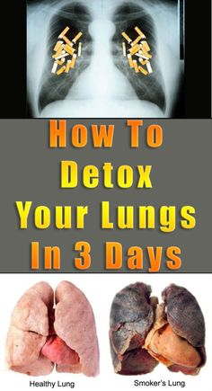 How To Detox Your Lungs In 3 Days #health #detox #lungs #fitness #beauty