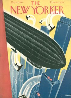 New Yorker cover | Theodore G. Haupt | travel
