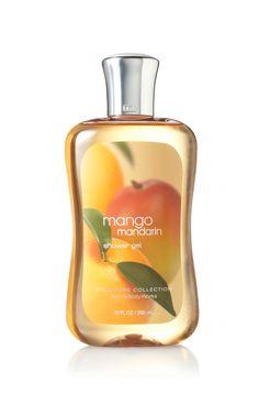 Mango Mandarin Shower Gel - Signature Collection - Bath & Body Works
