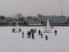 Skaters on the Navesink River!