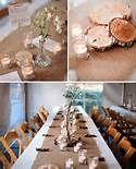 tischdeko hochzeit baumwolle - Bing Bilder