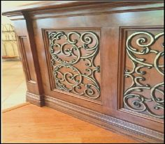 Cabinet Doors | Kitchen Cabinet Doors |Wrought Iron Cabinet Doors