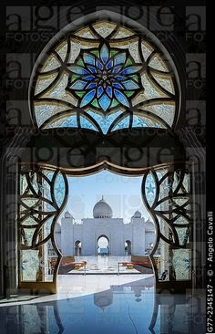 Jeque Zayed gran mezquita, Abu Dhabi, Emiratos Árabes Unidos