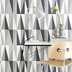 Modern Wallpaper, Contemporary Wallpaper, Scandi Wallpaper and Geometric Wallpaper from Ferm Living.