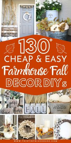 Cool Diy, Fall Home Decor, Holiday Decor, Décor Antique, Diy Fall Wreath, Fall Crafts For Kids, Autumn Crafts, Diy Décoration, Porch Decorating