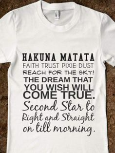 Disney quotes on a shirt? I need it!!!!