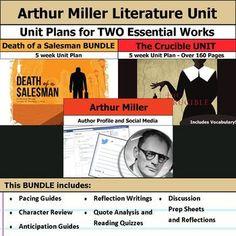 death of a salesman unit plan pdf