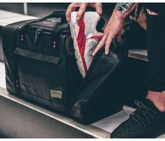 Calibre Schwarz Sneaker Duffel