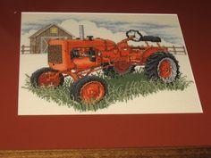 Allis Chalmer Tractor Stichery