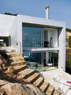 house on the Spanish coast