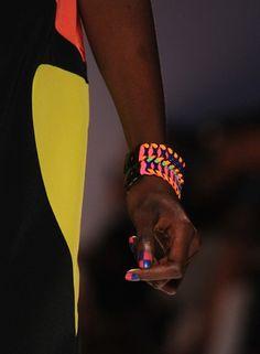 Geometric nails at Nicole Miller #nails #nailpolish #manicure