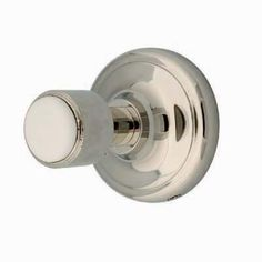 Innova Waterford Single Robe Hook in Polished Nickel-AL-WATRH-22 at The Home Depot