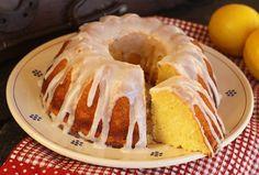 Ricotta Cake With Lemon Glaze | A light, very moist cake with an intense lemon flavor.  {Italian recipe}