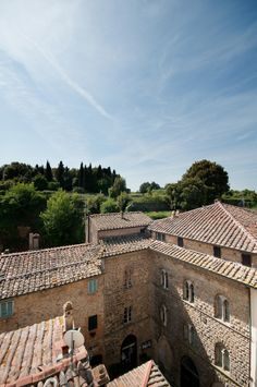 #Hotel Nazionale overlooks the most beautiful panoramic point of #Volterra - #Tuscany