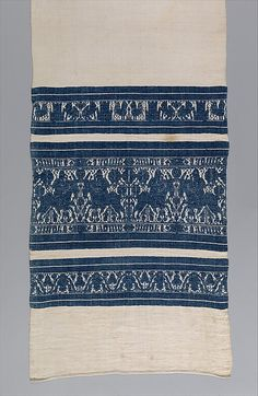Date: century Culture: Italian, possibly Perugia Medium: Linen and cotton Dimensions: 68 × 19 in. × cm) Classification: Textiles-Woven Credit Line: Gift of Mrs. Textiles, Textile Patterns, Medieval World, Tablet Weaving, Italian Renaissance, Antique Lace, 15th Century, Fabric Art, Middle Ages