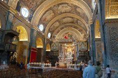 Inside Valetta Cathedral,Malta