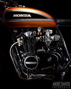 Honda CB500 #caferacer discover #motomood