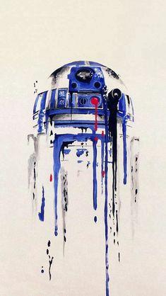 Minimal Painting Starwars Art Illustration #iPhone #5s #wallpaper