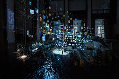 Sarah Sze - Centrifuge (2017) Haus der Kunst, Munich (Germany)