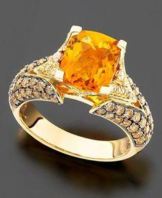 Citrine Ring.