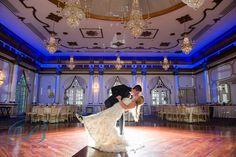 Beautiful New Jersey wedding at the Tides! Photo by Bleu Studio