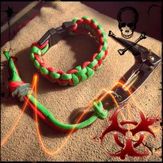 """Contagion! The zombies are coming !  Various leather cord necklaces for sale 17"""" with charm $10 plus shipping.  Good cop - My business """" inked cord creations  """" email slfarris13@yahoo.com two colors 12  $ plus shipping , one color $10 plus shipping - need wrist size and leather cord jewelry need name sizes &  address/ .paypal accepted"""