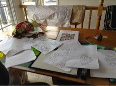 Deborah Louie Domestic Machine Quilting Tutor   quilt ideas ... : domestic machine quilting - Adamdwight.com
