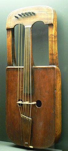 Crwth (krotta - a lyrához hasonló kelta hangszer) – Wikipedia
