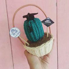 Yayy happy graduation #crochetcactus #cactus #handmade