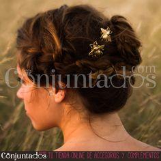 Gran surtido de ideales horquillas y pasadores en nuestra sección web de accesorios para tu pelo ★ desde 4,95 € en https://www.conjuntados.com/es/para-tu-pelo/pasadores-y-horquillas.html ★ #novedades #paratupelo #foryourhair #clip #hair #conjuntados #conjuntada #complementos #moda #fashion #fashionadicct #picoftheday #outfit #estilo #style #GustosParaTodas #ParaTodosLosGustos